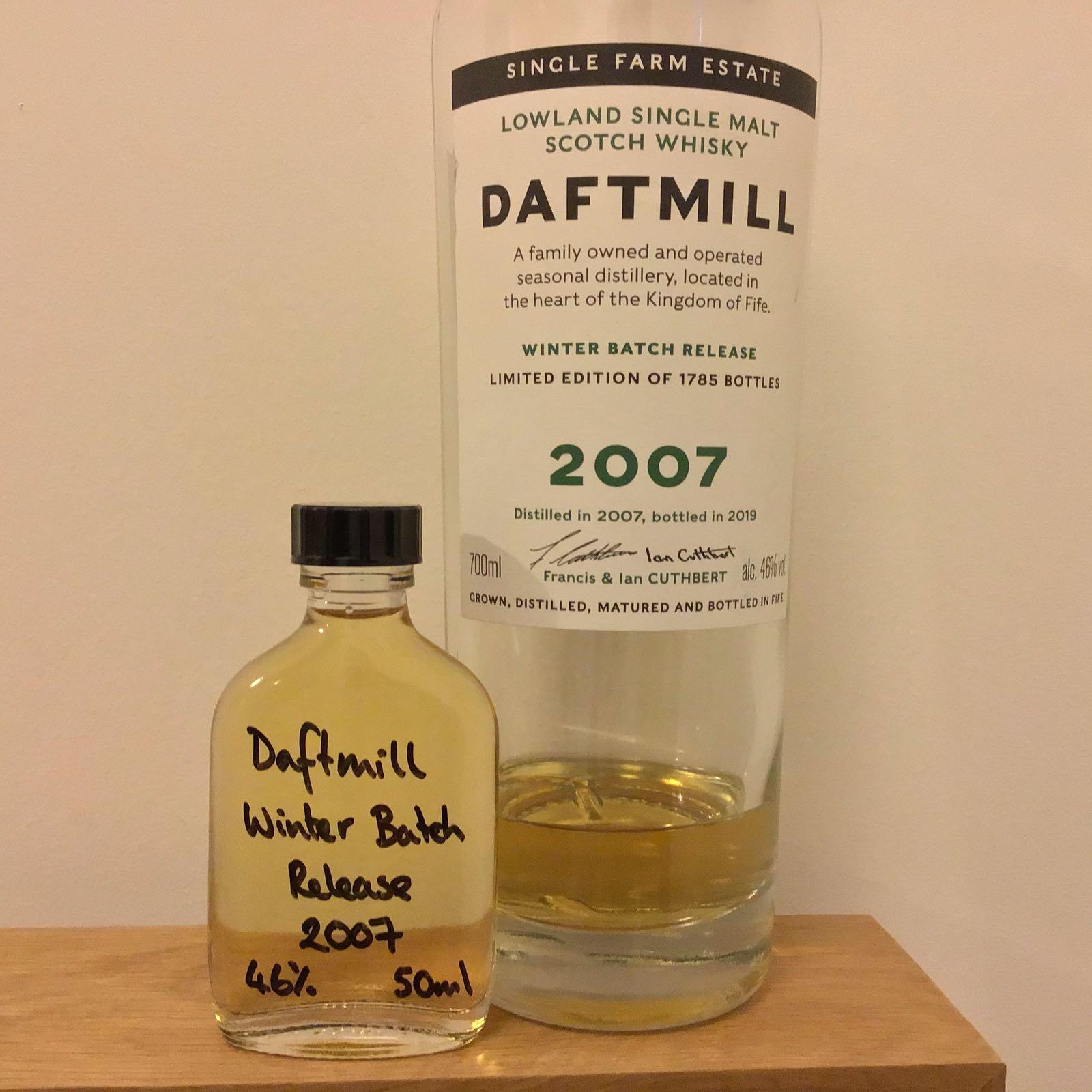 Daftmill 2007 Taster