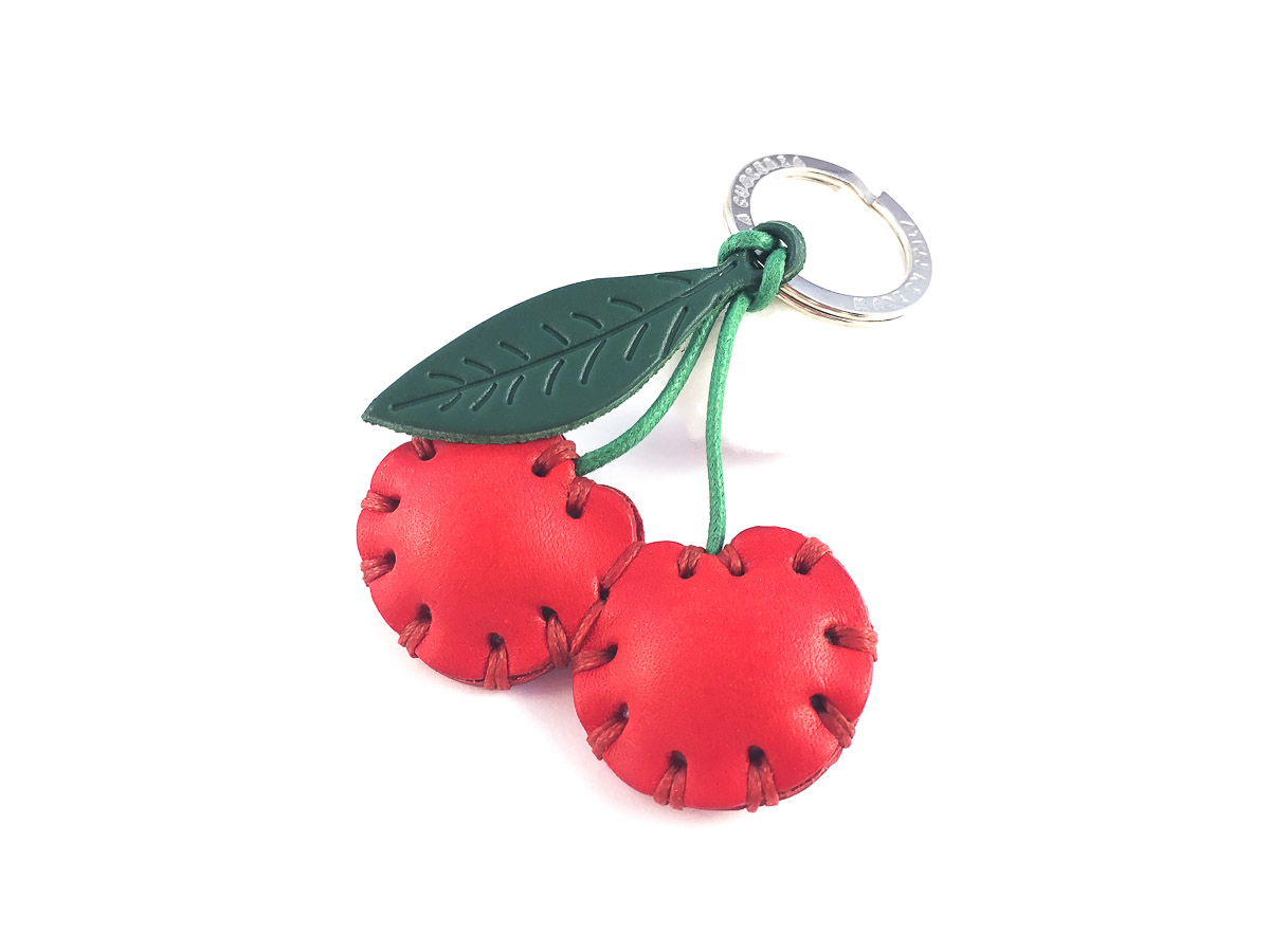 Cherries Keyring