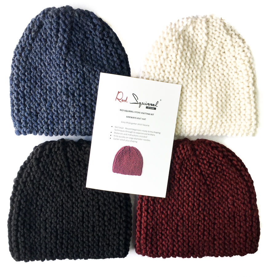 Knitting Kit - Sideways Hat