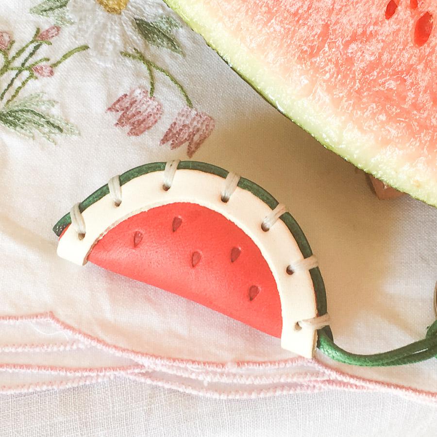 Watermelon Keyring