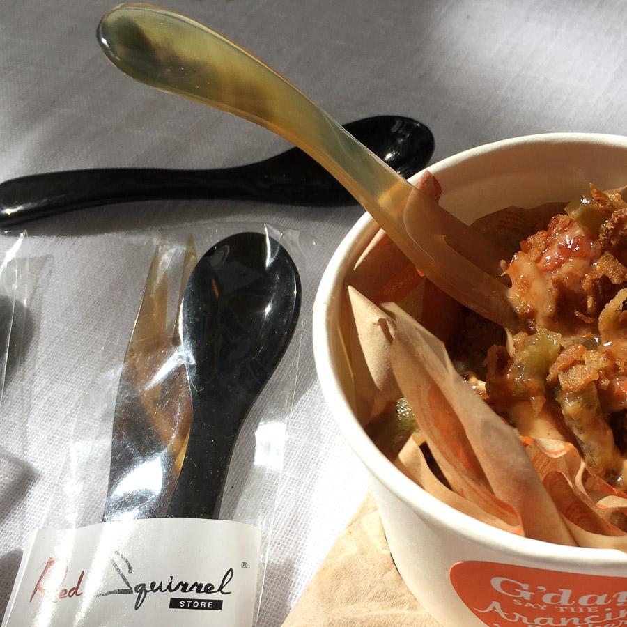 Eco Cutlery Spoon & Fork Set