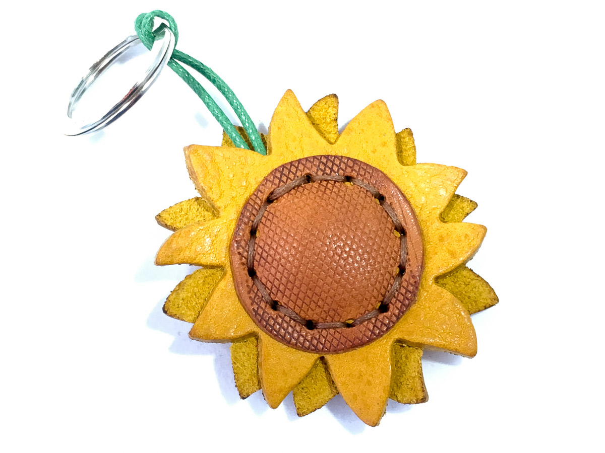 Sunflower Keyring