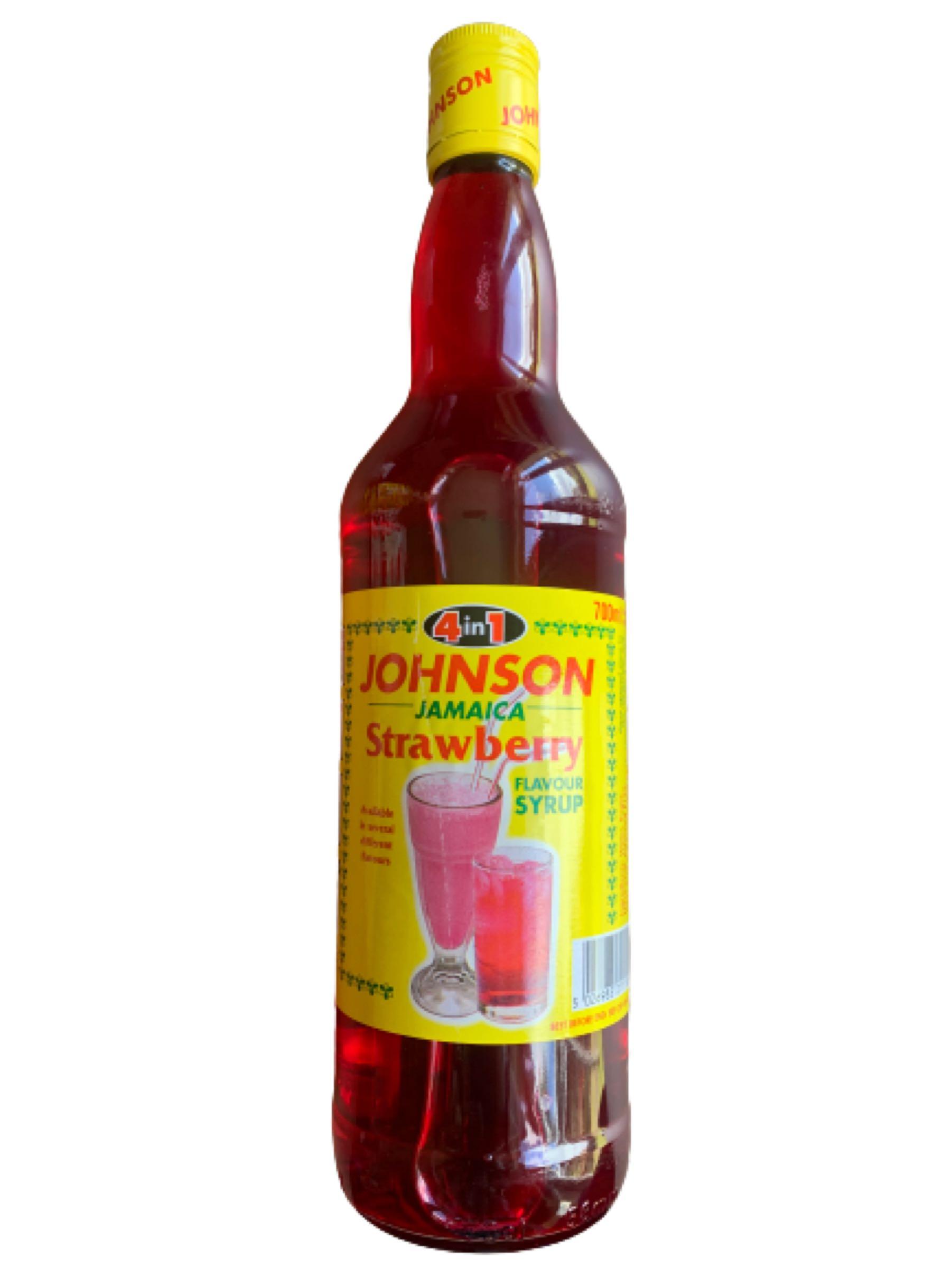 Johnson's 4-1  Strawberry Syrup