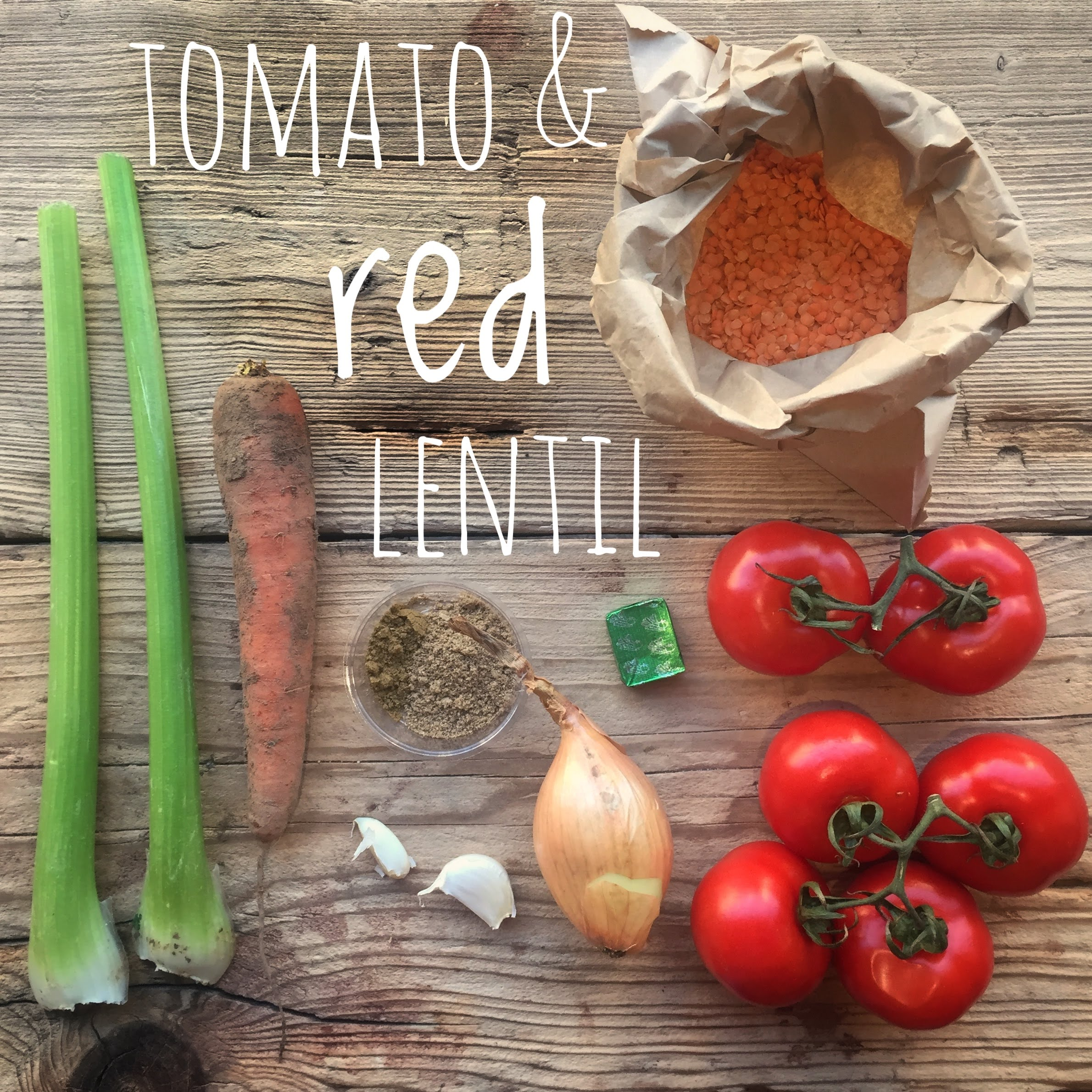 Tomato & Red Lentil Soup Bag (vgn/gf)