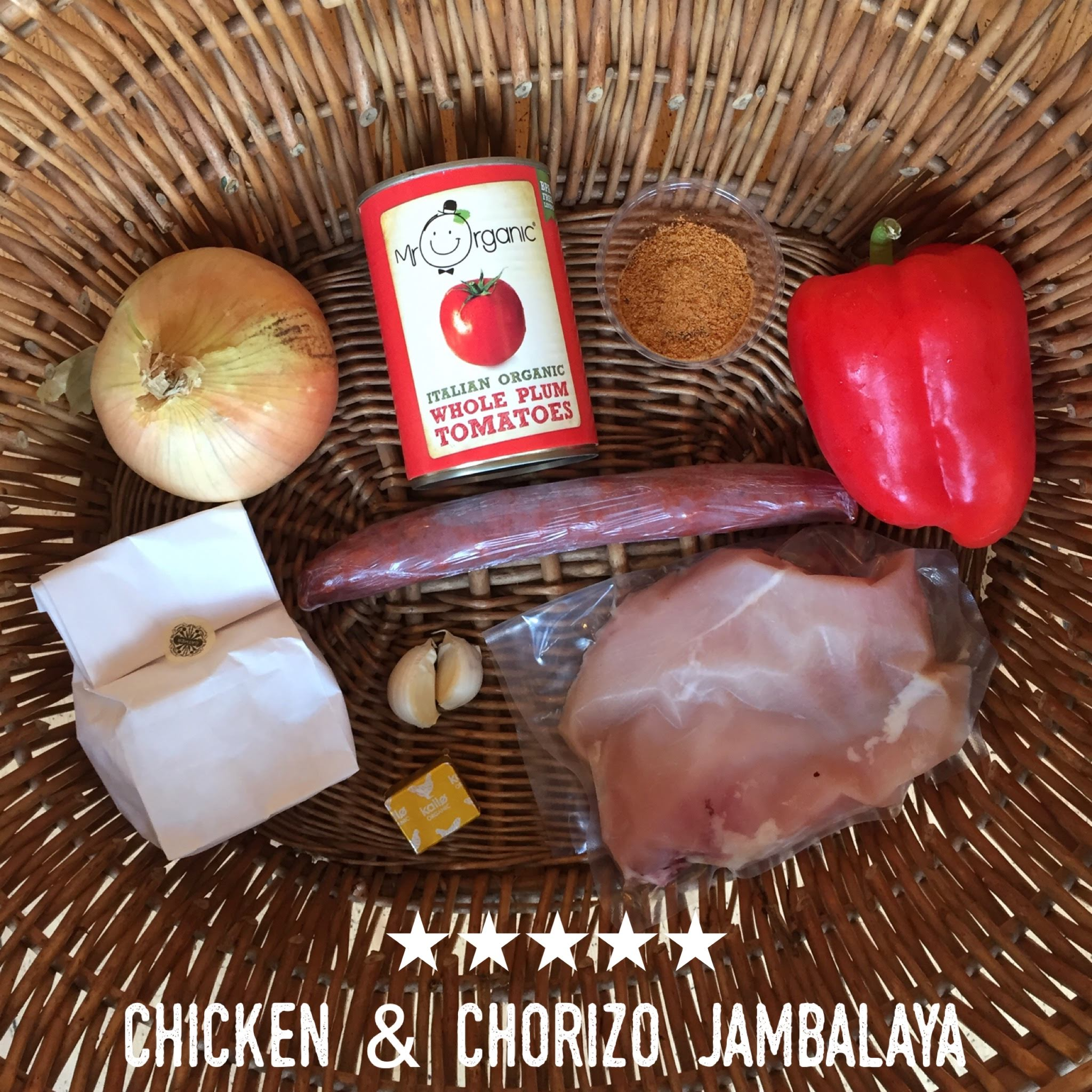 Chicken & Chorizo Jambalaya Meal Bag