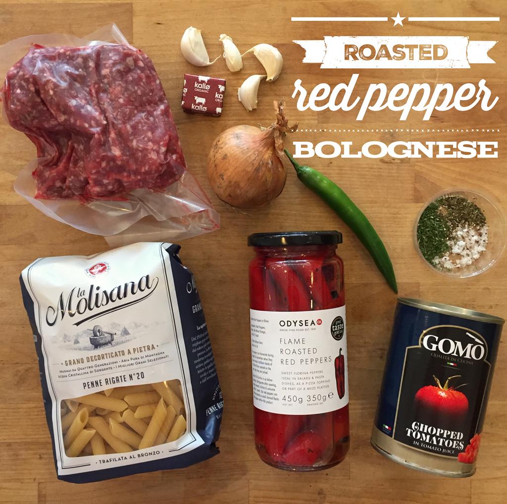 Roasted Red Pepper Bolognese Meal Bag