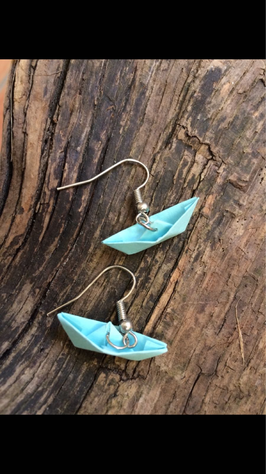 Fischereidesign - Ohrringe Faltboote