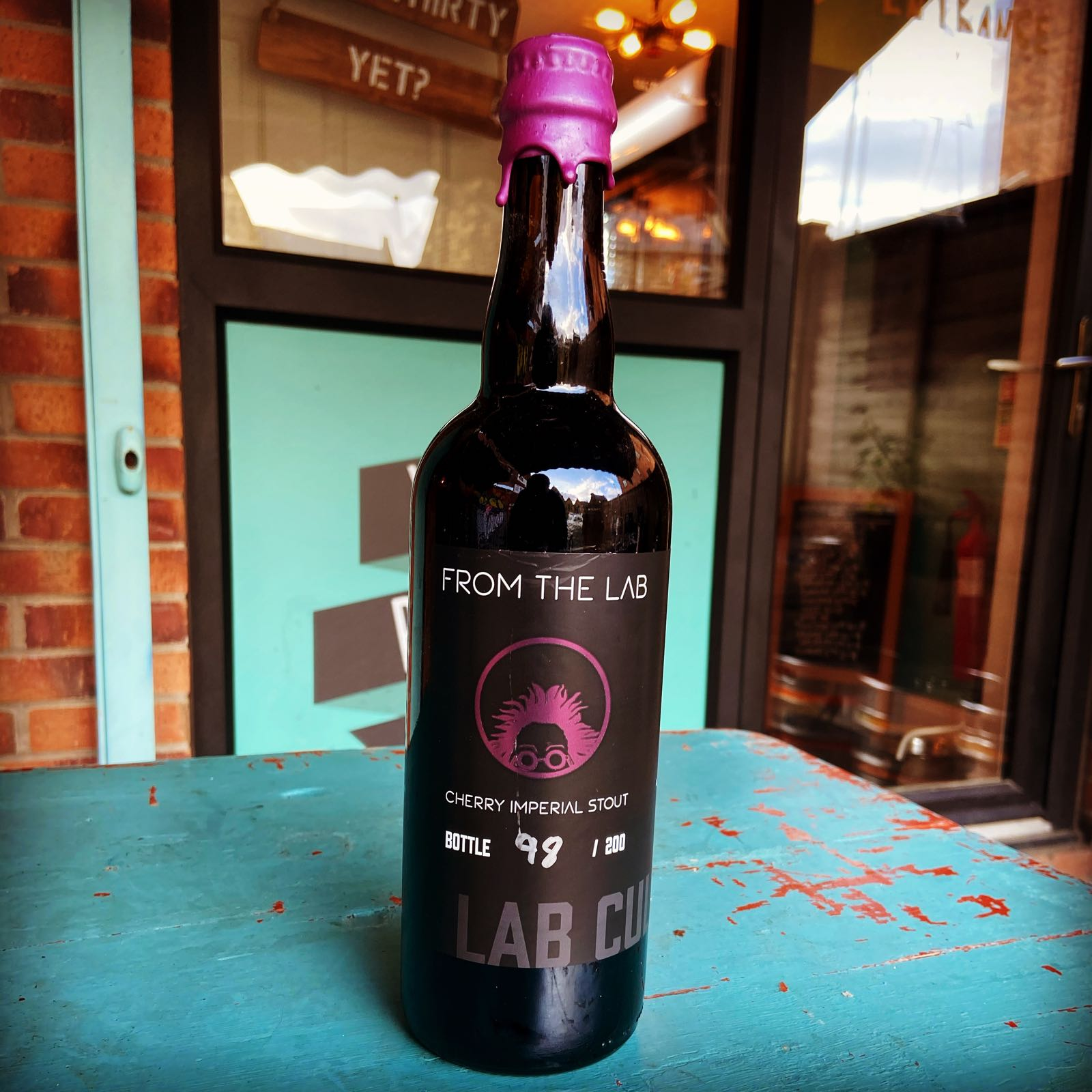 Lab Culture Cherry Imperial Stout 10% 750ml