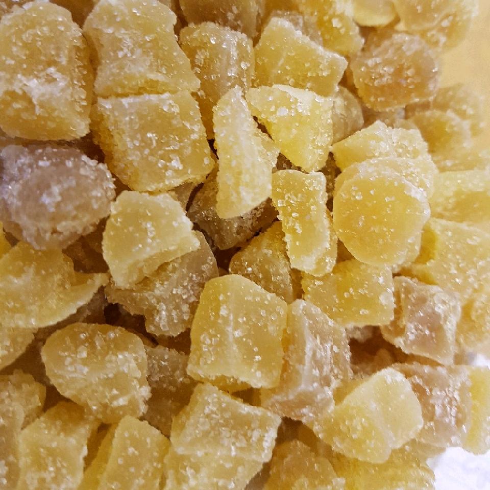 crystallized ginger - per 100g