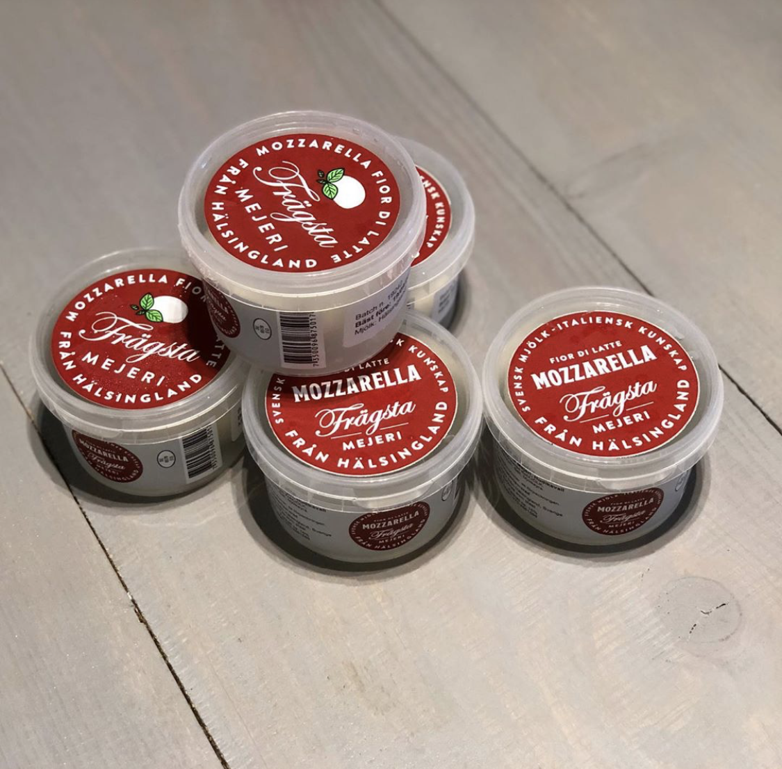 Mozzarella 125 g, Frägsta Mejeri