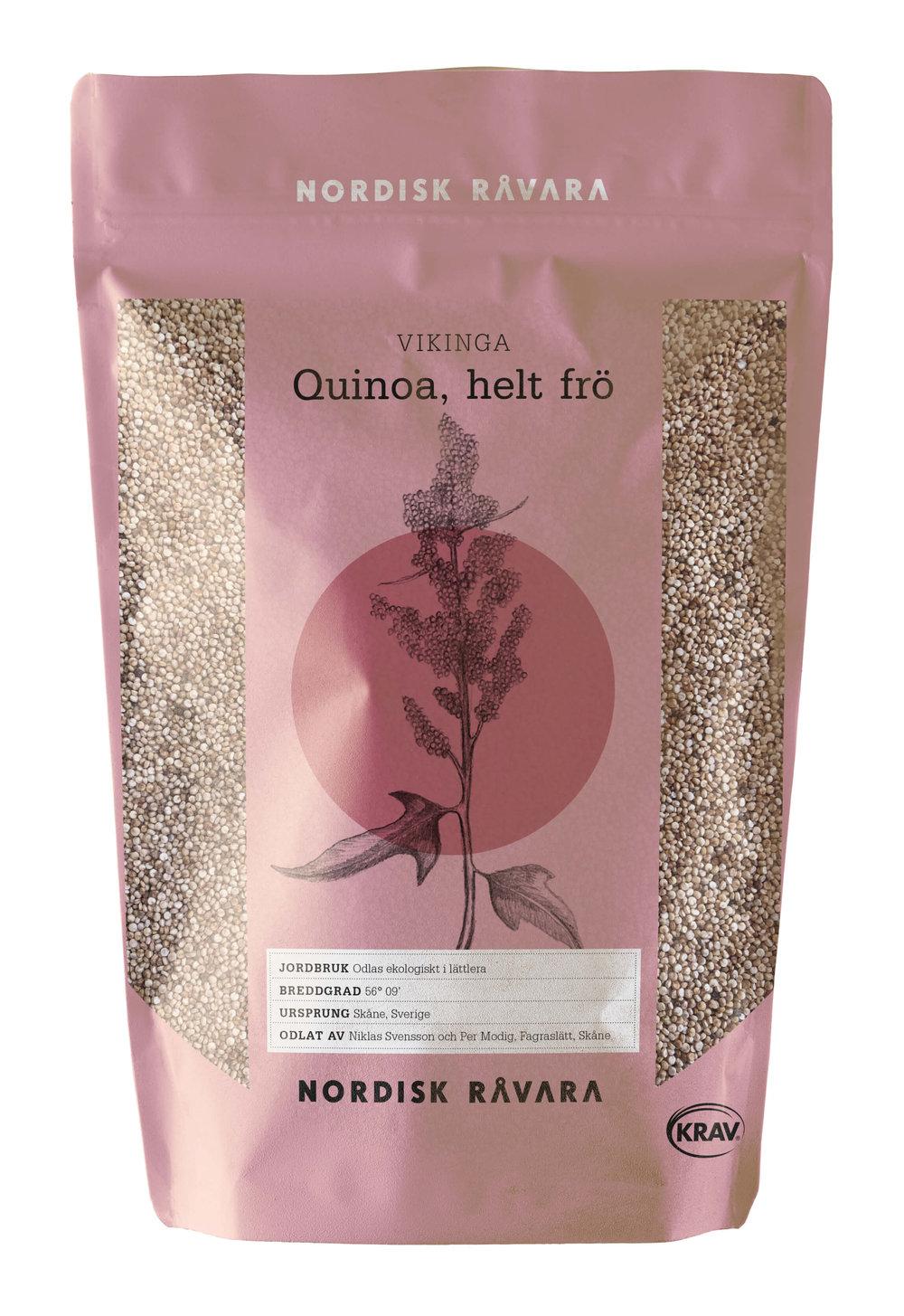 Quinoa, hel frö, Nordisk Råvara