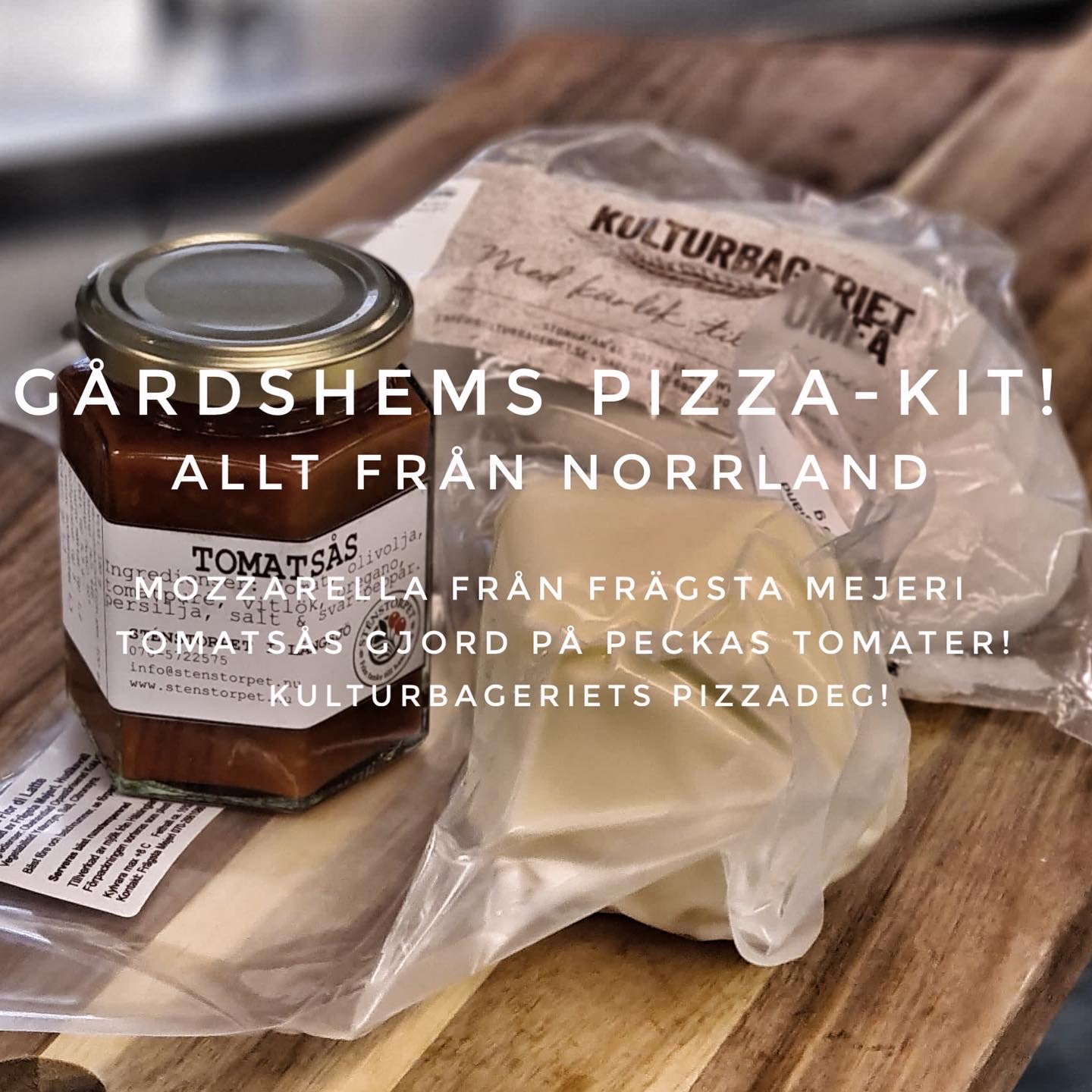 Gårdshems Pizza-kit