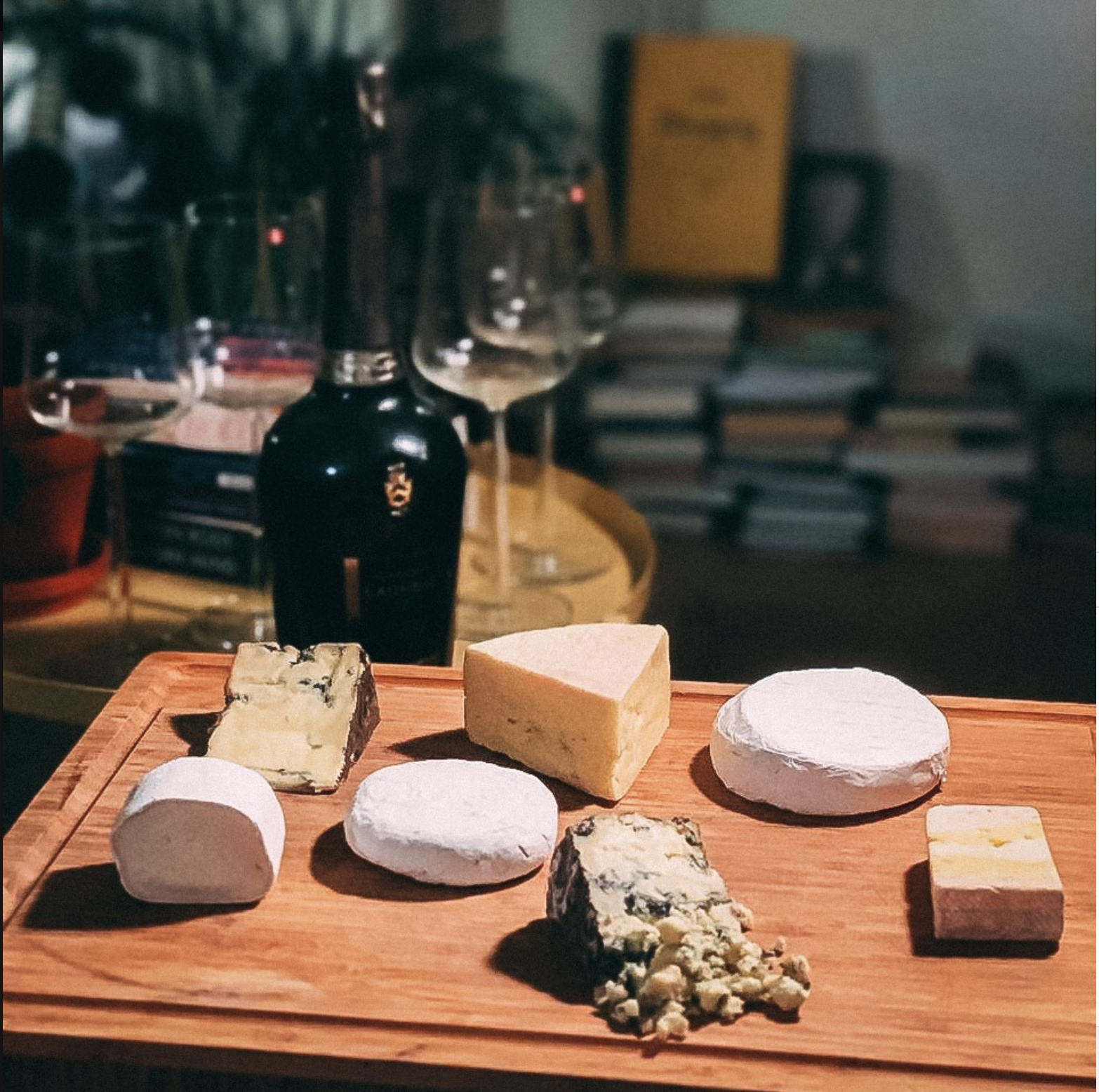 Umeå Online Cheese Tasting (In English)