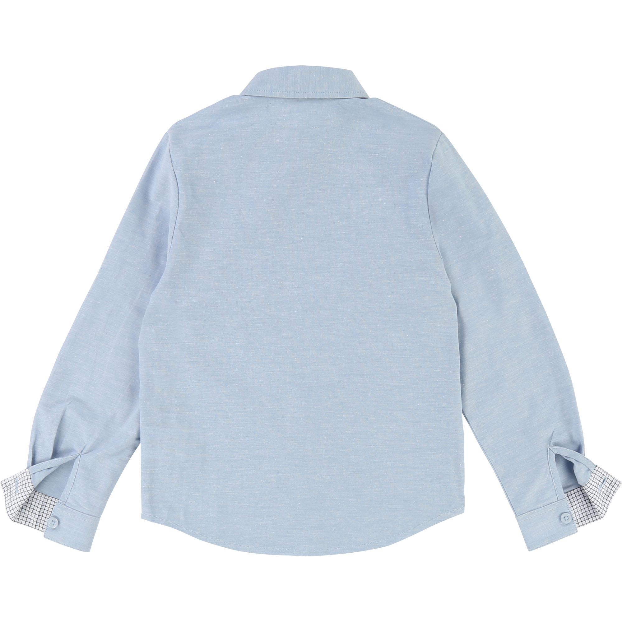 Carrement Beau v-sininen kauluspaita koko 102 cm, 114 cm, 138cm ja 150 cm ALE -50% (OVH 39€)