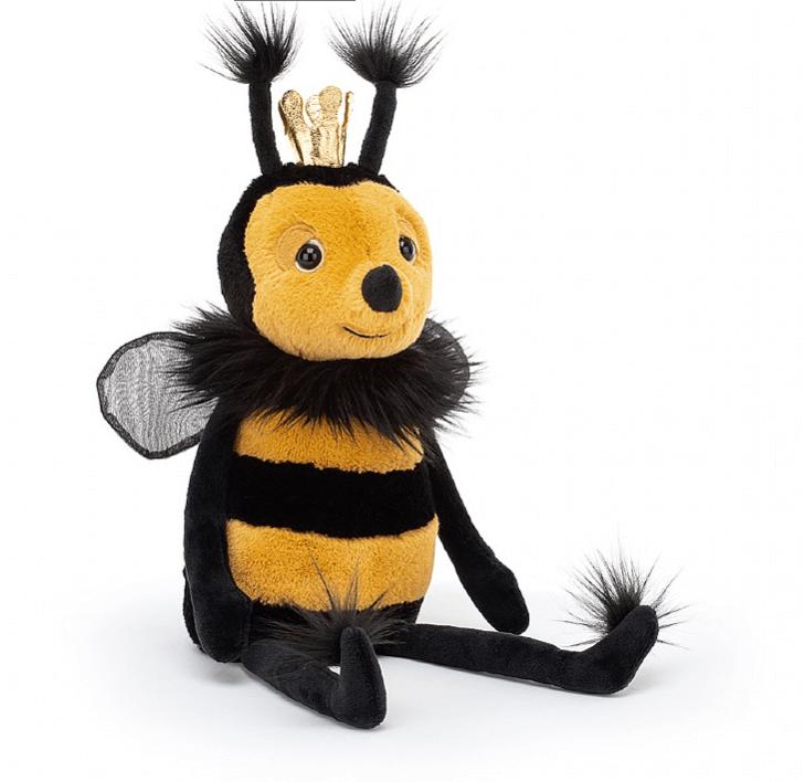 Jellycat Queen Bee – kuningatarmehiläinen