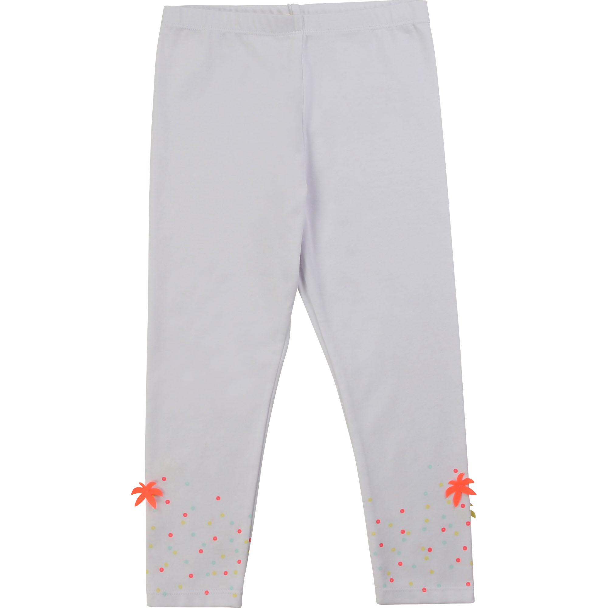 Billieblush valkoiset legginsit ALE -20% (OVH 19€)
