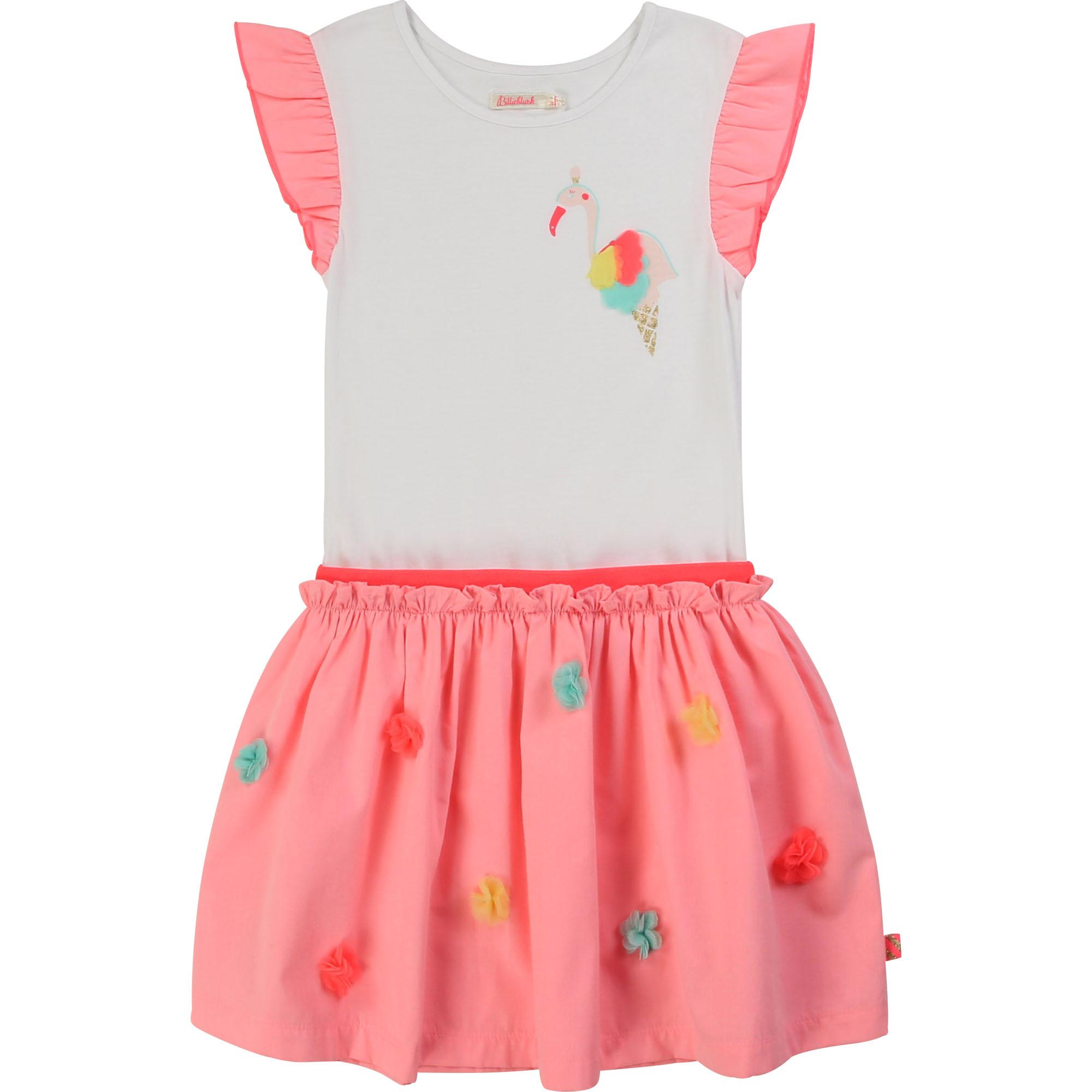 Billieblush Flamingomekko -40 % 98cm,102cm, 138cm ALE -20% (OVH 55€)