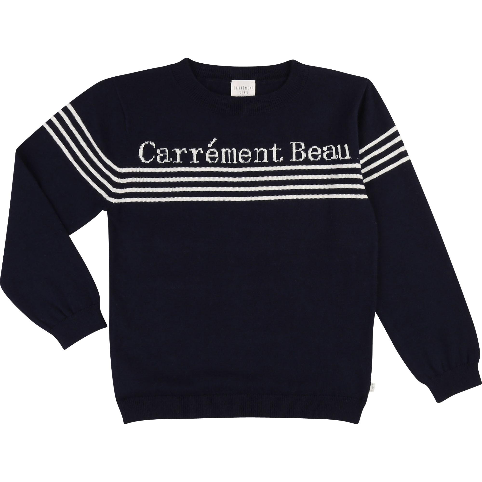 Carrement Beau Neulepusero koko 126 cm ja 138 cm ALE -50% (OVH 49,00€)