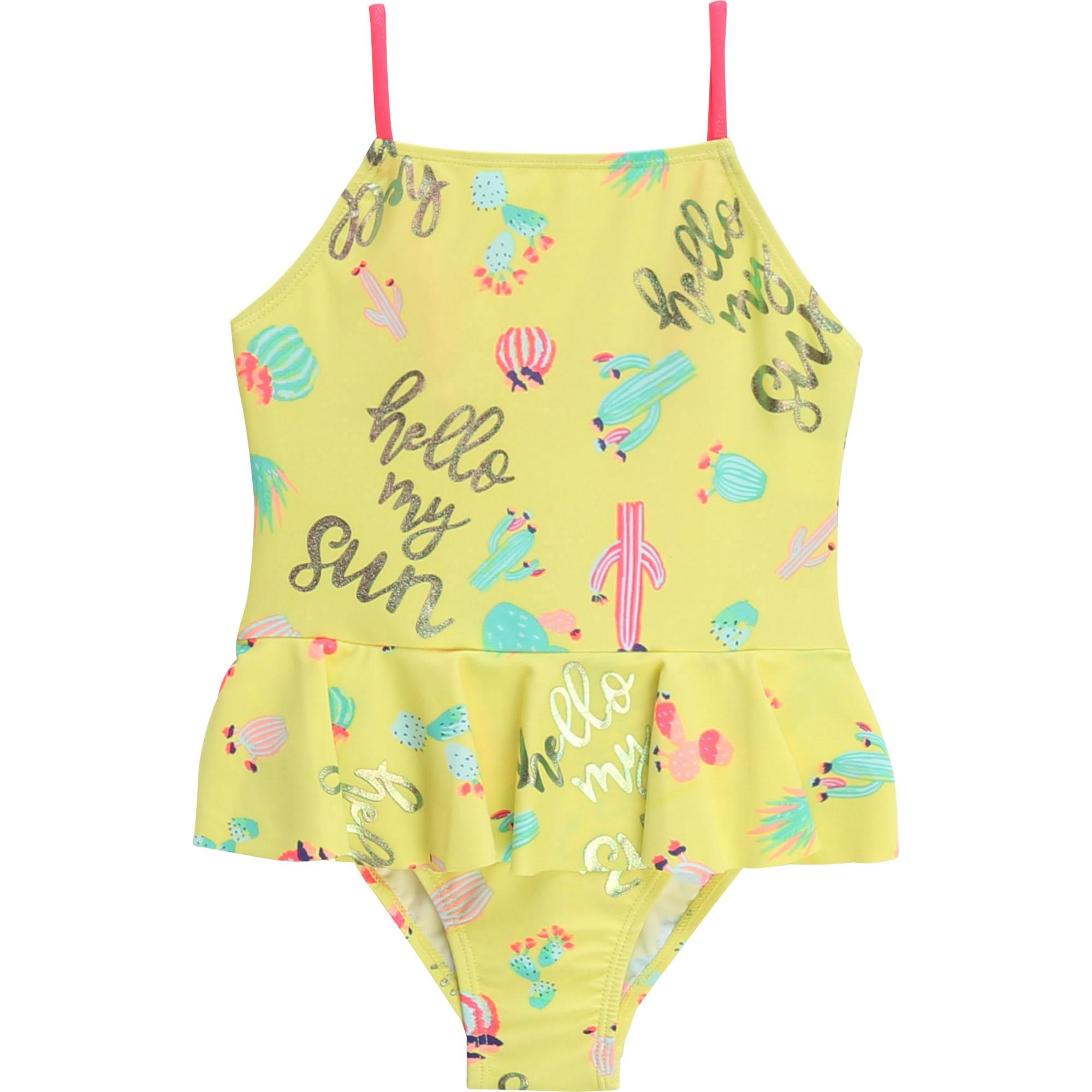 Billieblush Uimapuku keltainen ALE (OVH 35€)