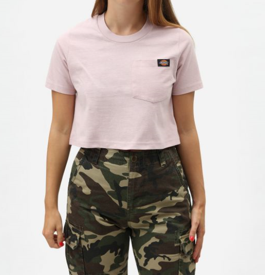 Dickies Ellenwood cropped T-shirt ALE -50% (OVH 29€)