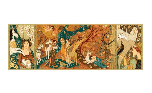 Djeco Unicorn Garden palapeli – 500 palaa