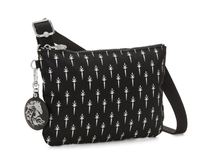 Kipling Disney Frozen käsilaukku, black print ALE -50% (OVH 55€)