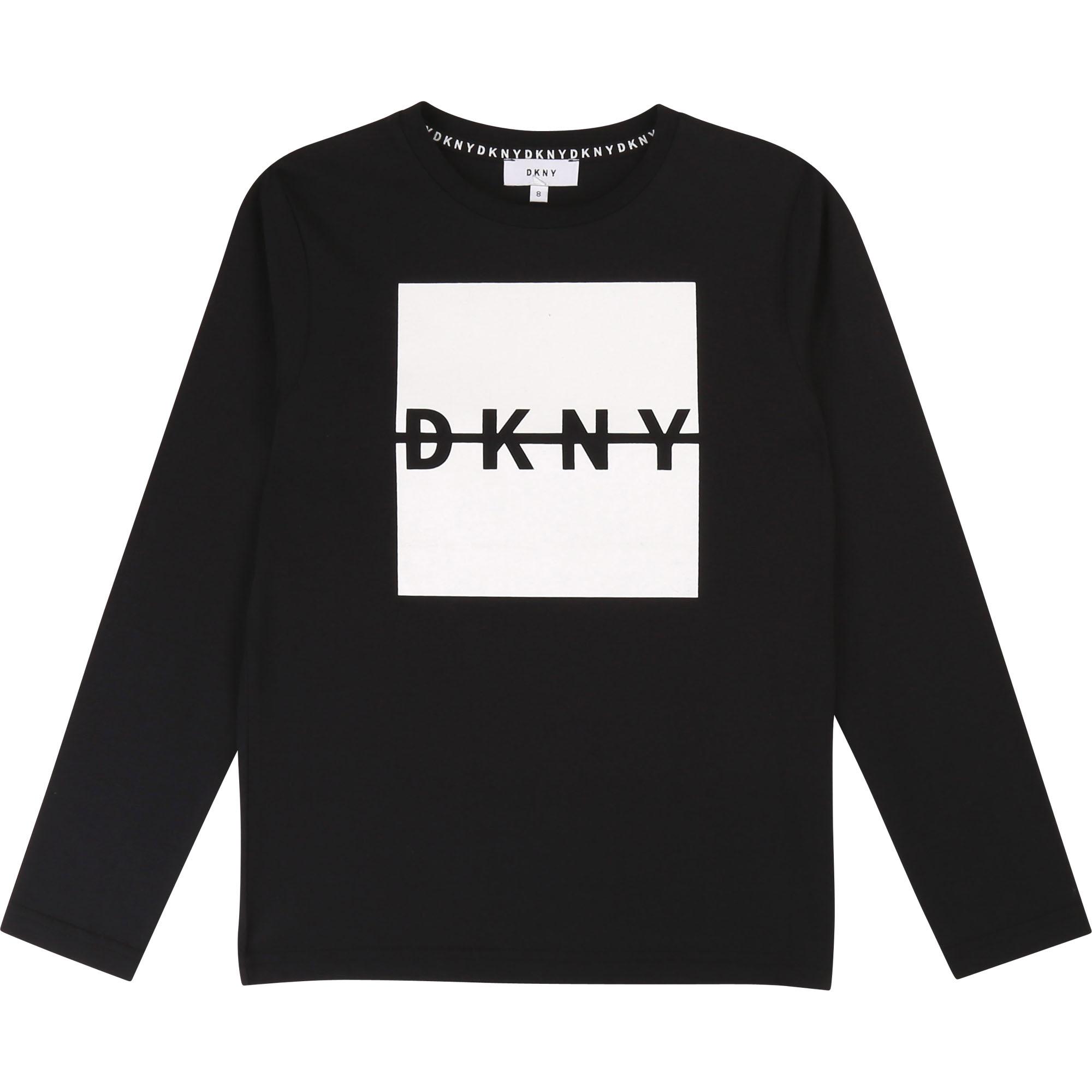 DKNY Pitkähihainen Paita Musta tai Harmaa koko 150 cm ja 170 cm ALE -50% (OVH 45/49€)