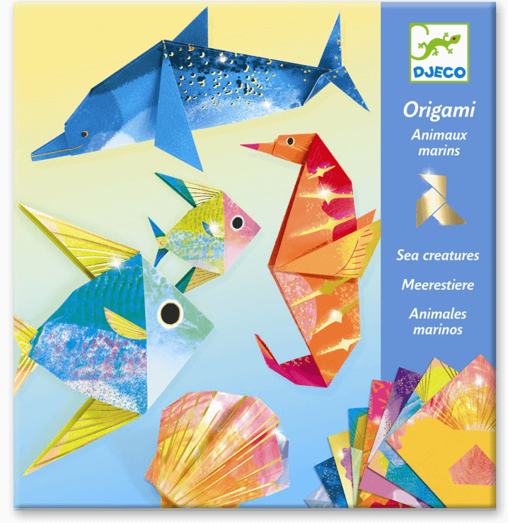Djeco- Origami Mereneläimet