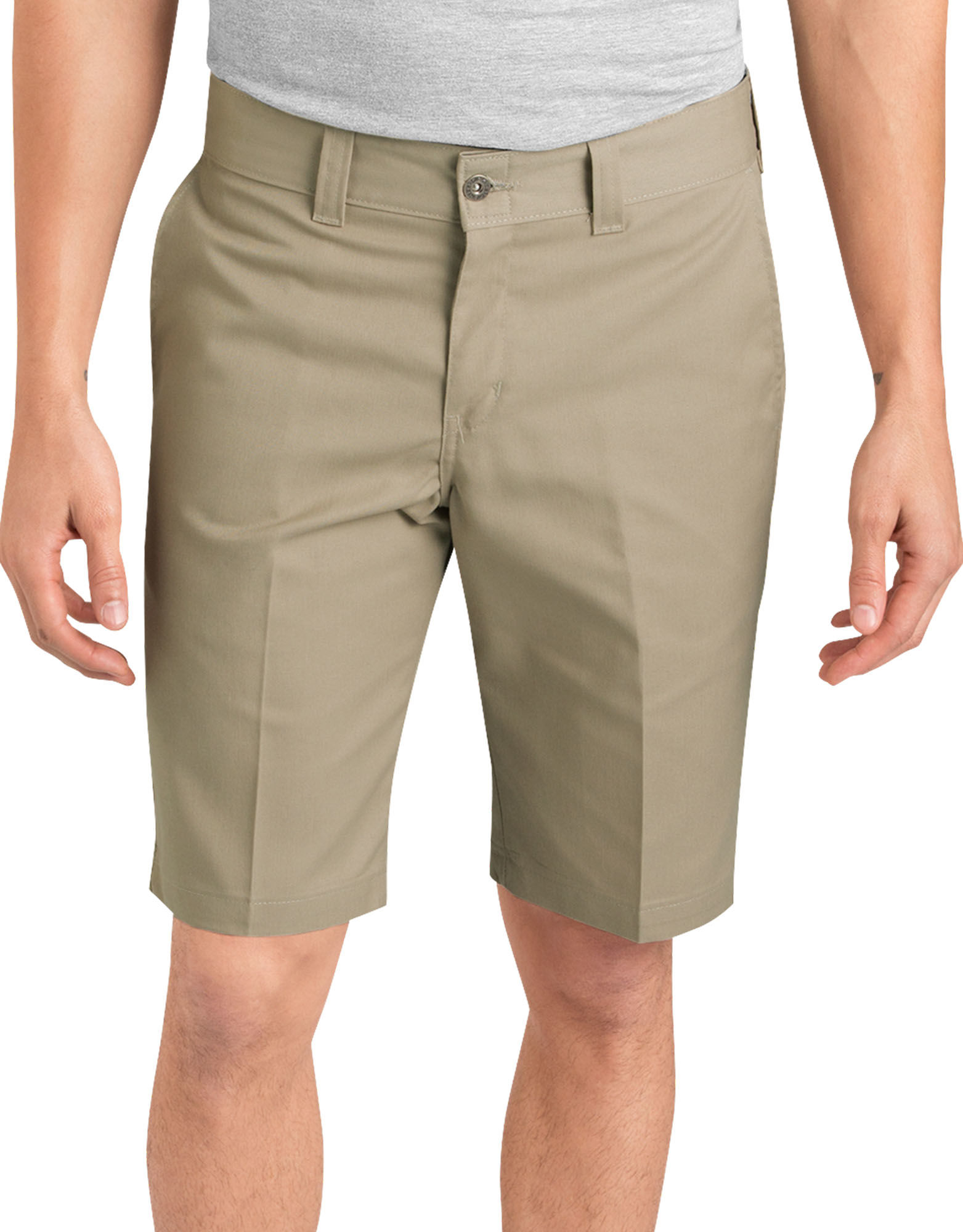 Dickies 67 Slim fit flex Shortsit Musta tai Beige