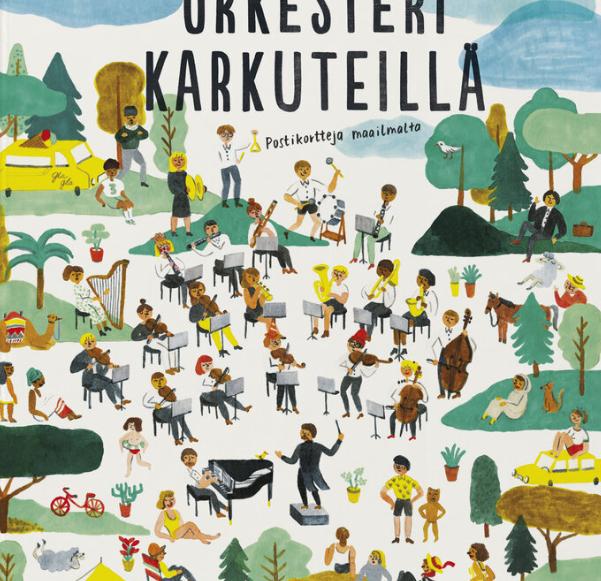 Orkesteri karkuteillä-Etana editions