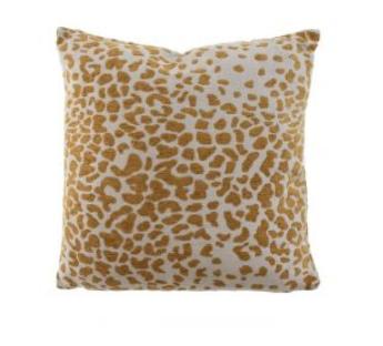Tyyny CASUAL keltainen leopardi