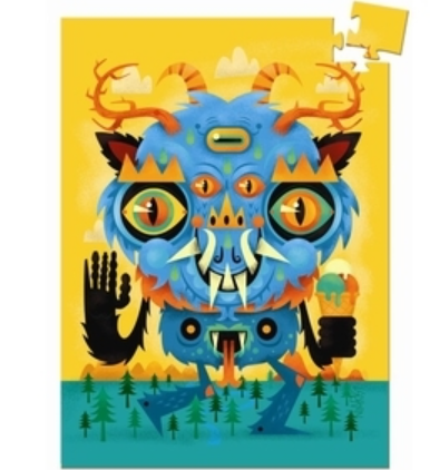 Djeco mini puzzle – Monsters 60 palaa