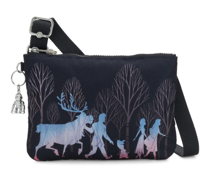 Kipling Disney Frozen käsilaukku, Raina frozen forest ALE -50% (OVH 55€)