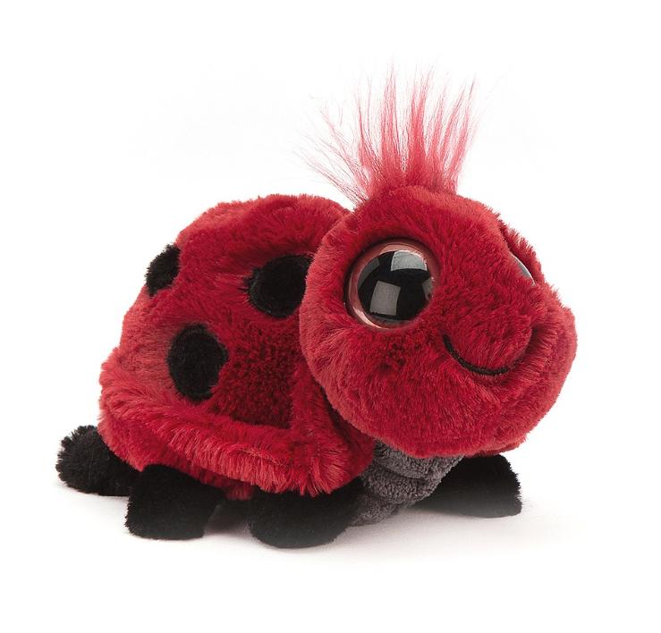 Jellycat leppäkerttu – Frizzles Ladybird
