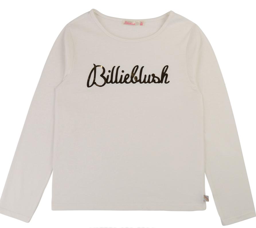Billieblush Pitkähihainen Paita valkoinen 114 cm ALE - 50%(OVH 19€)