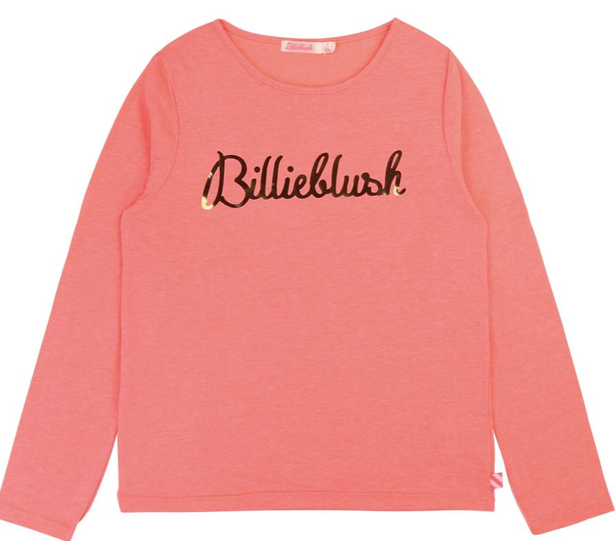 Billieblush Pitkähihainen Paita Pinkki/valk ALE - 50%(OVH 19€)