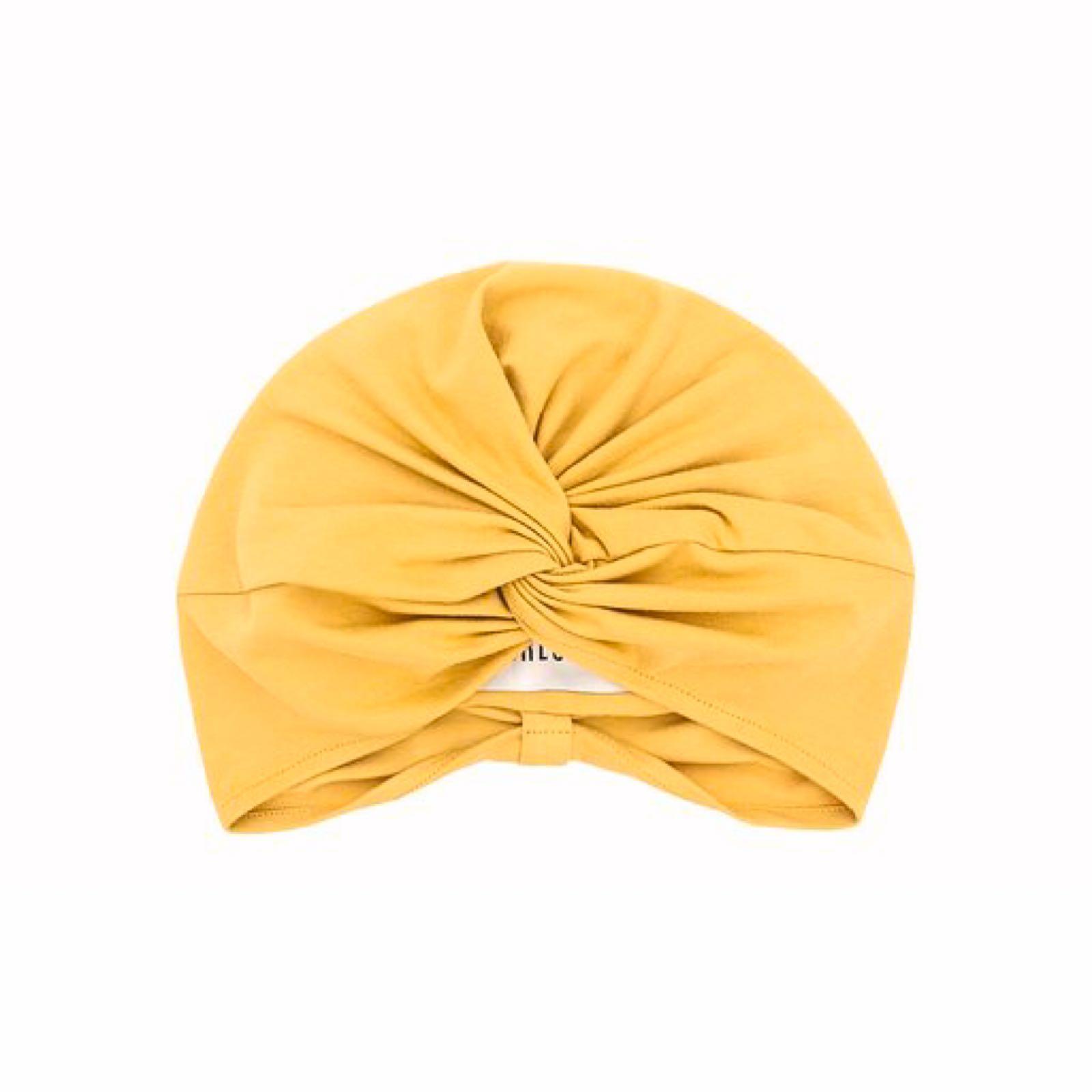 Amanda turban mustard