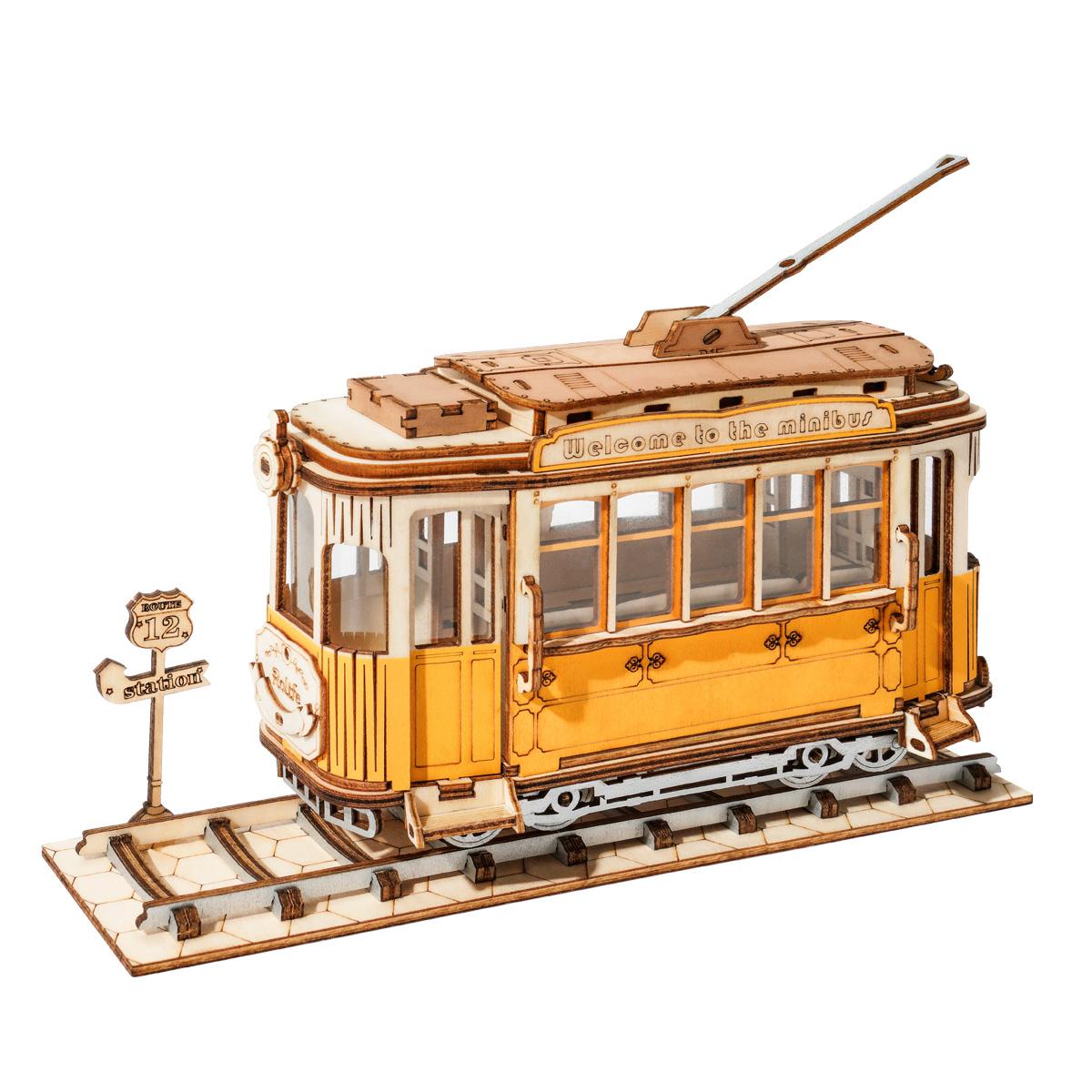Koottava Raitiovaunu, Robotime
