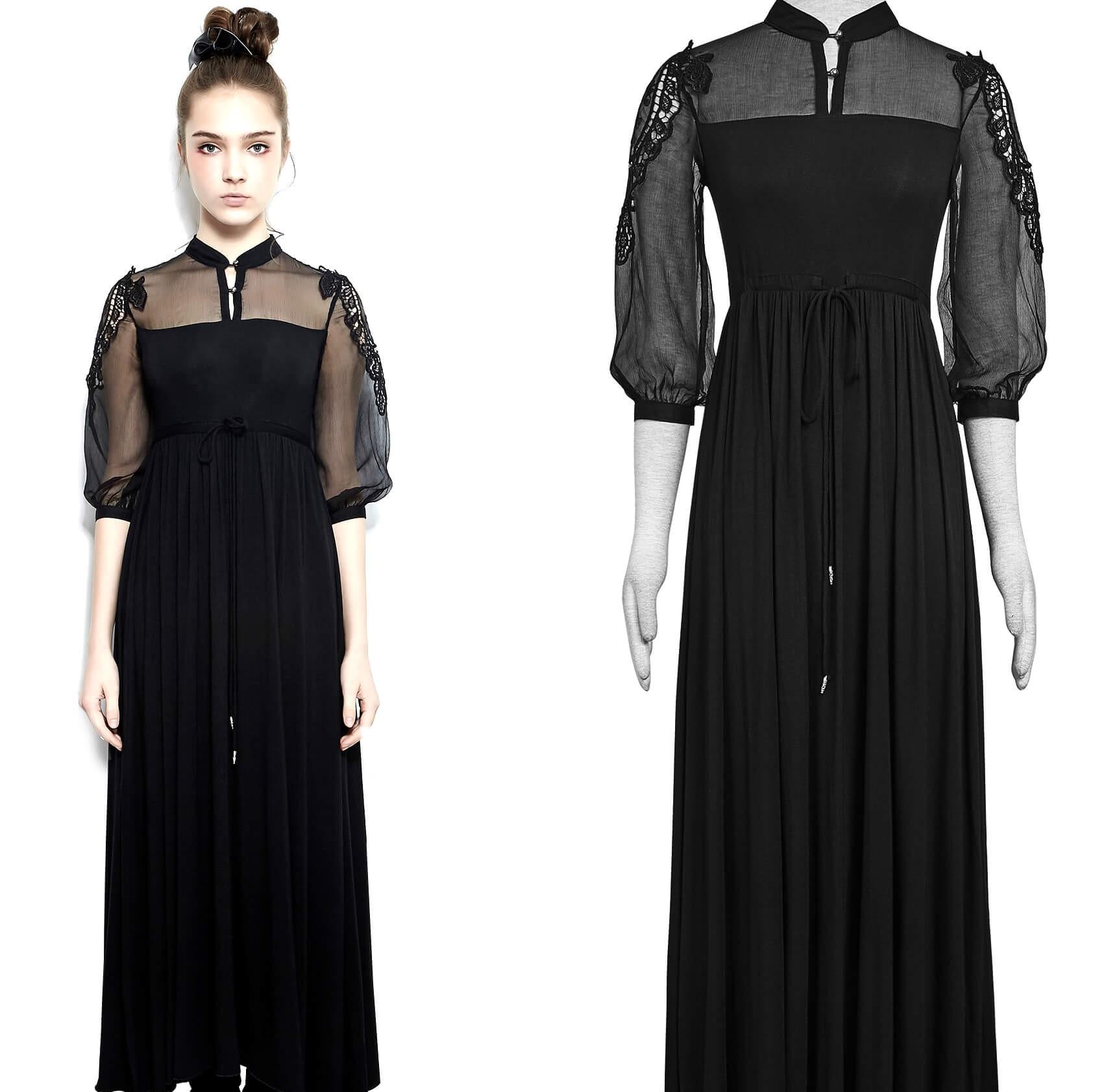 Sisters mekko, musta, Punk Rave