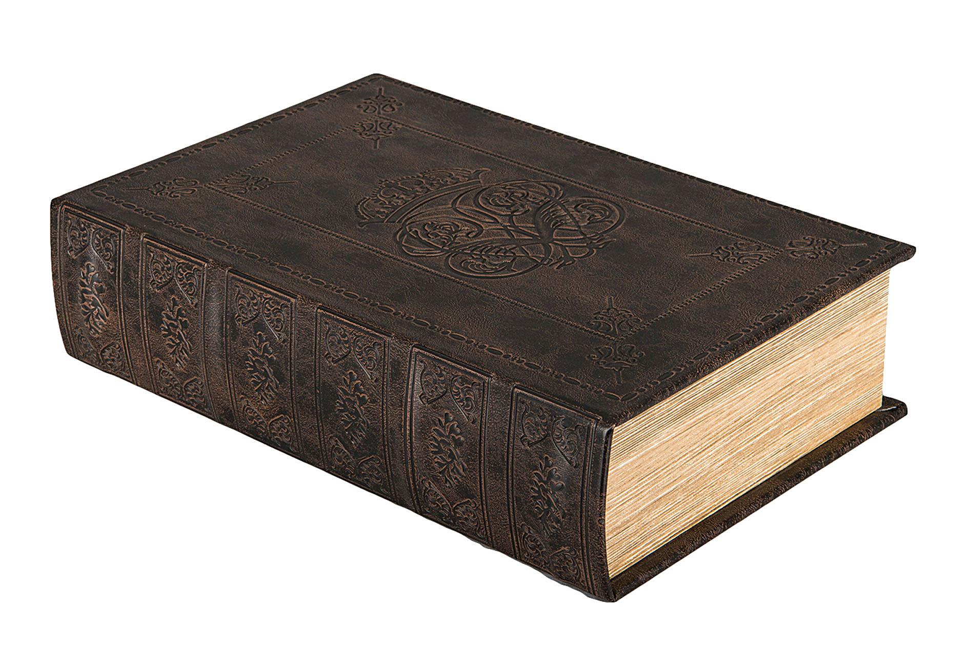 Säilytyslaatikko Kirja Leather, A Lot