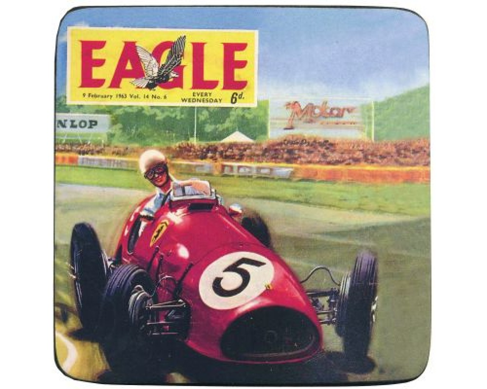 Lasinalusta Eagle Car