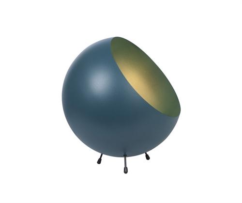 Pöytävalaisin XL Ball, petroolinsininen, Present Time