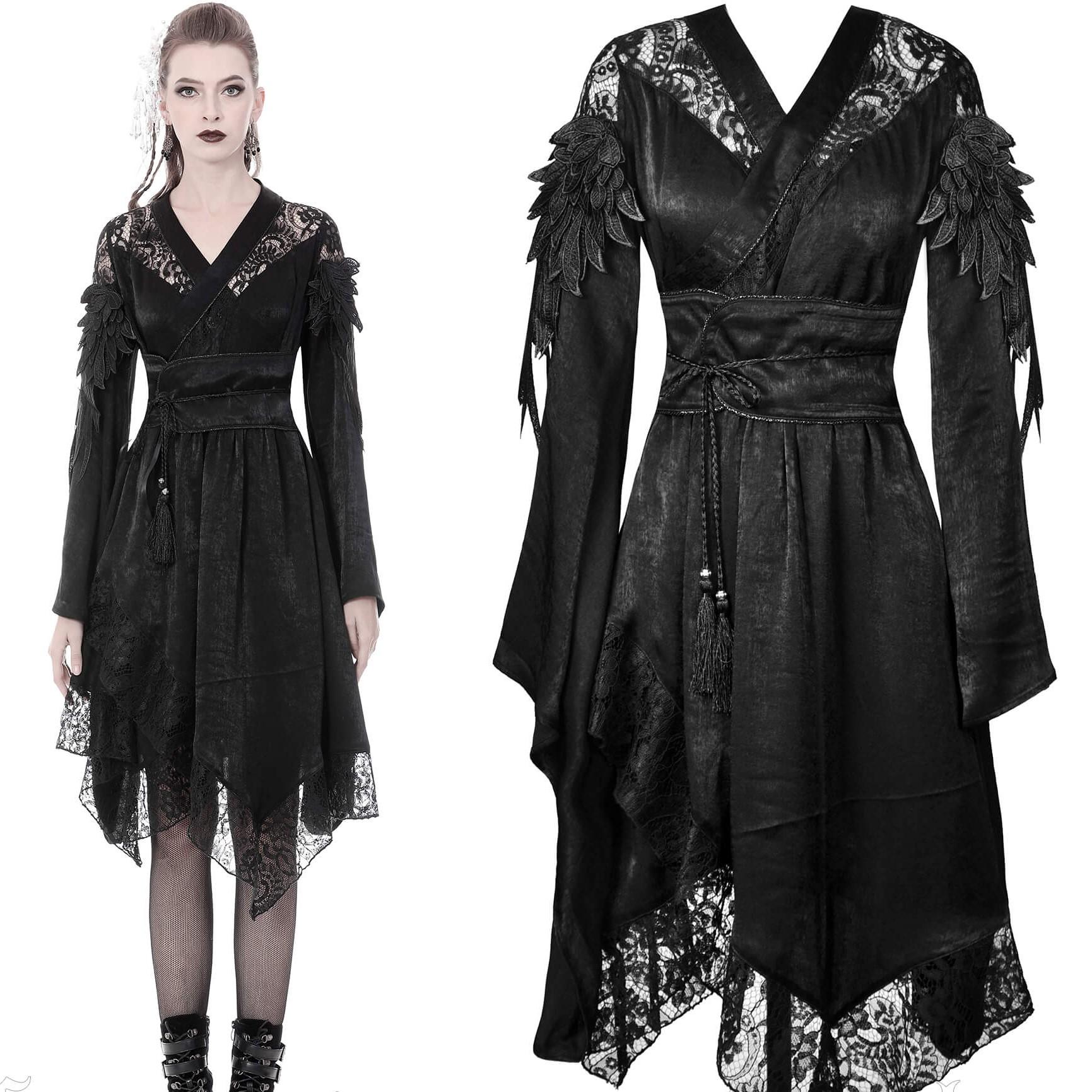 Aramantha kimono, musta, Dark In Love