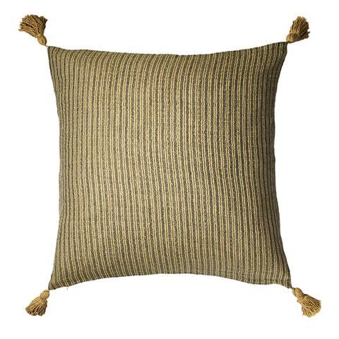 Tyynynpäällinen Ferna, sinappi/harmaa, Affari