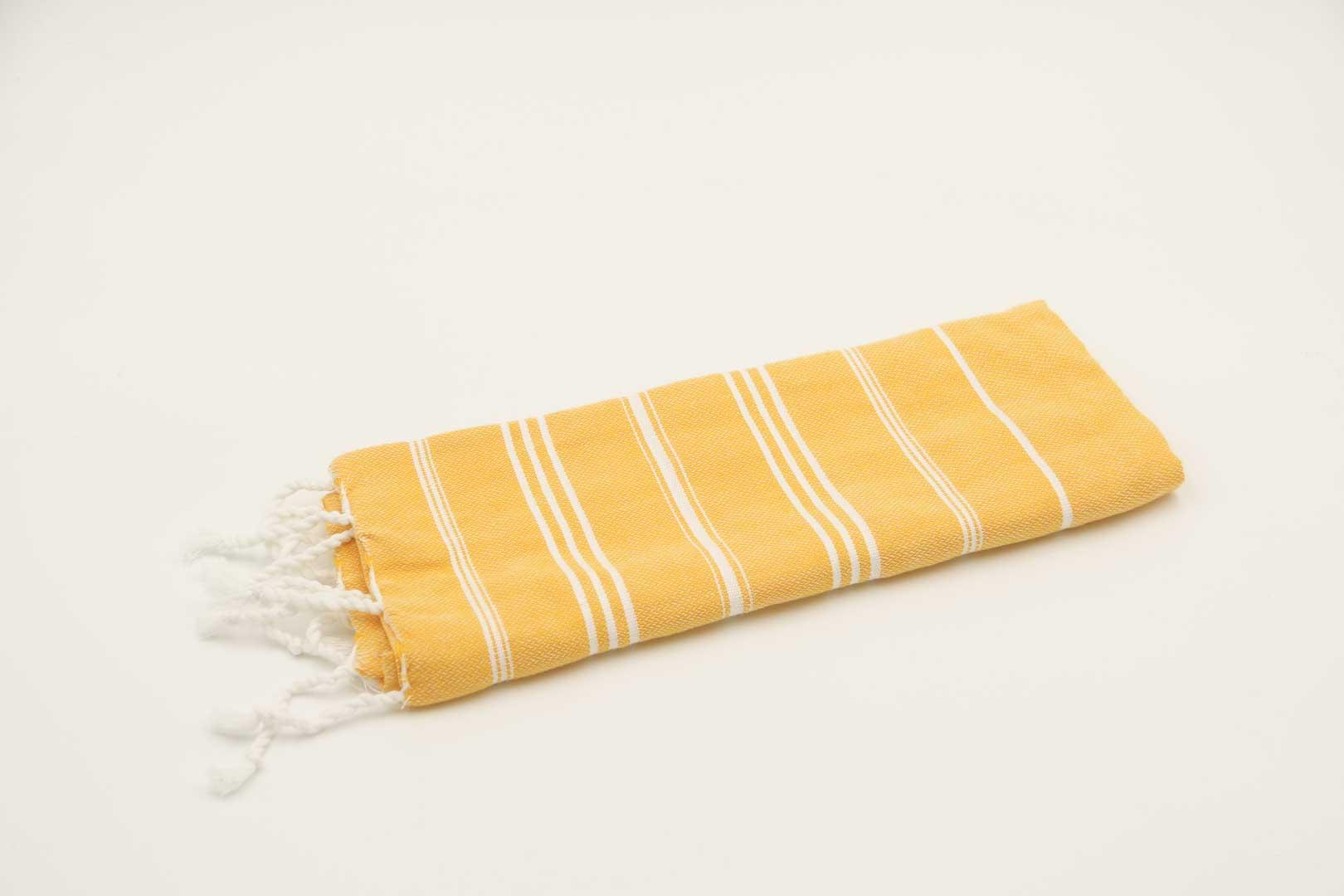 Käsipyyhe Ranta, keltainen