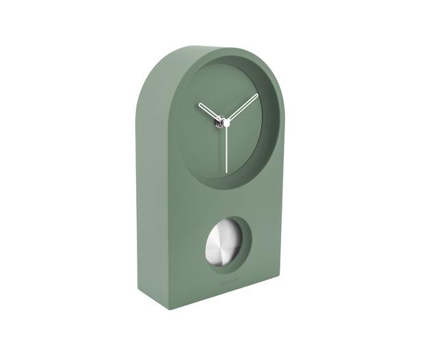 Pöytä-/seinäkello Taut vihreä, Present Time