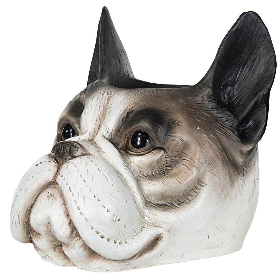 Kukkaruukku Bulldog, harmaa, A Lot