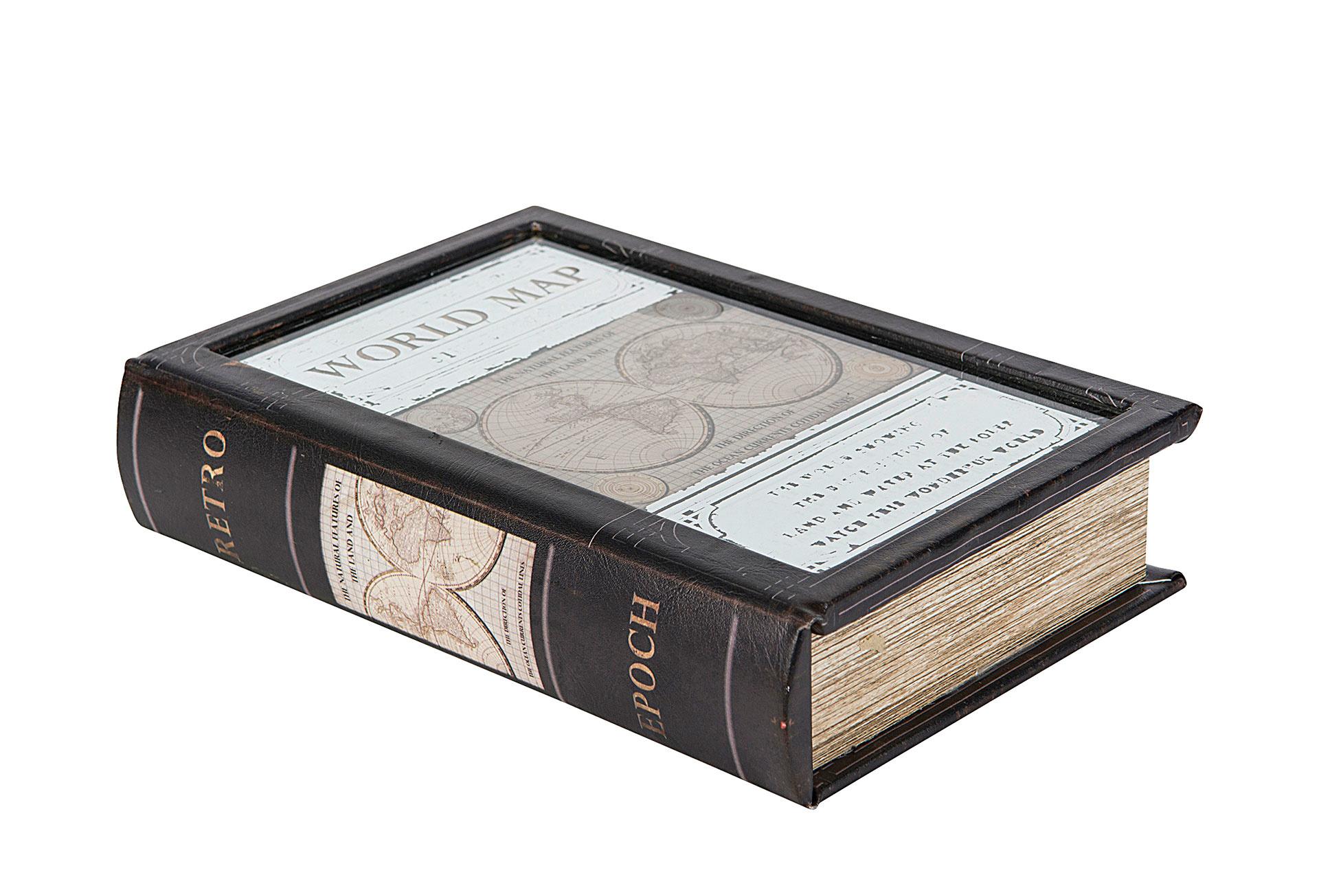 Säilytyslaatikko Kirja World Map, A Lot