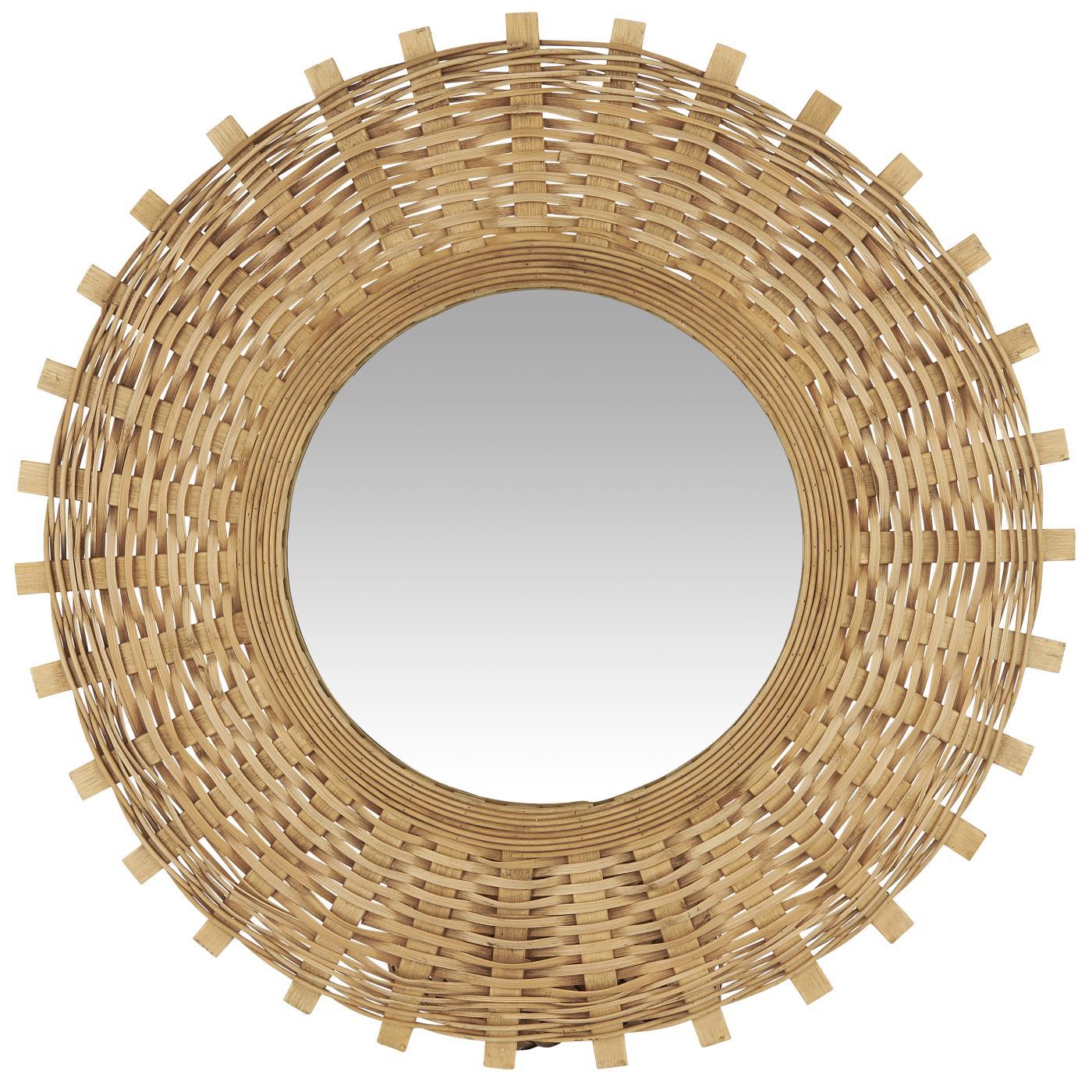 Seinäpeili Bambupunos, Ib Laursen
