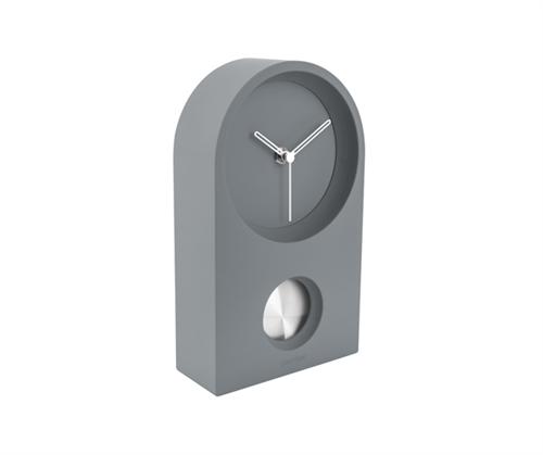 Pöytä-/seinäkello Taut harmaa, Present Time